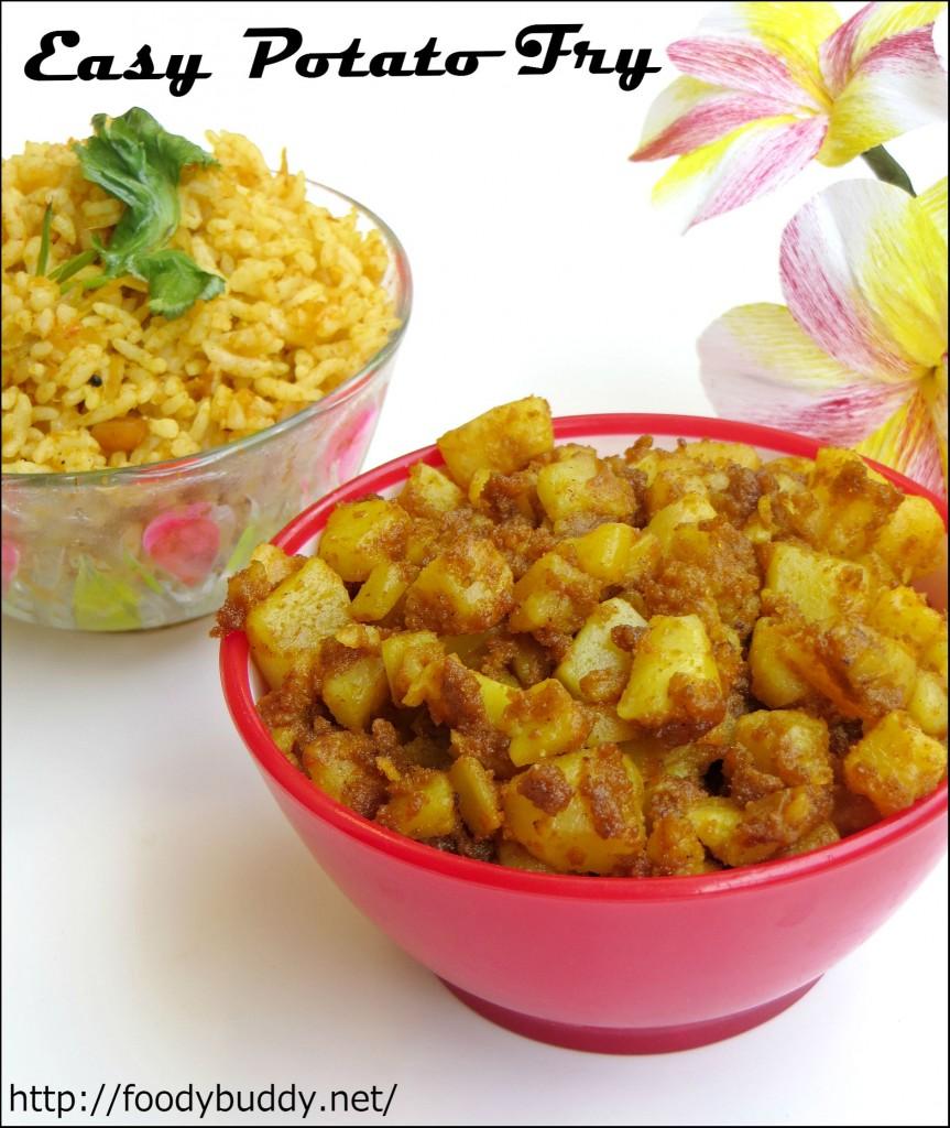 potato fry / urulaikizhangu varuval / south indian potato recipe
