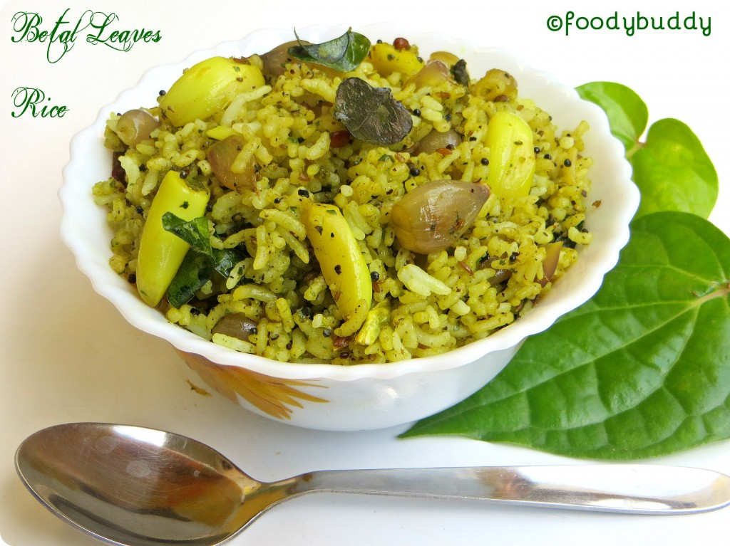 Betal Leaves Rice