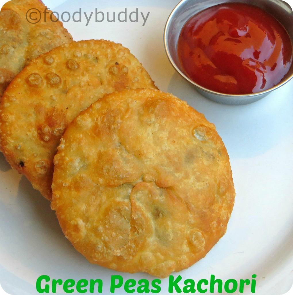 green peas kachori recipe