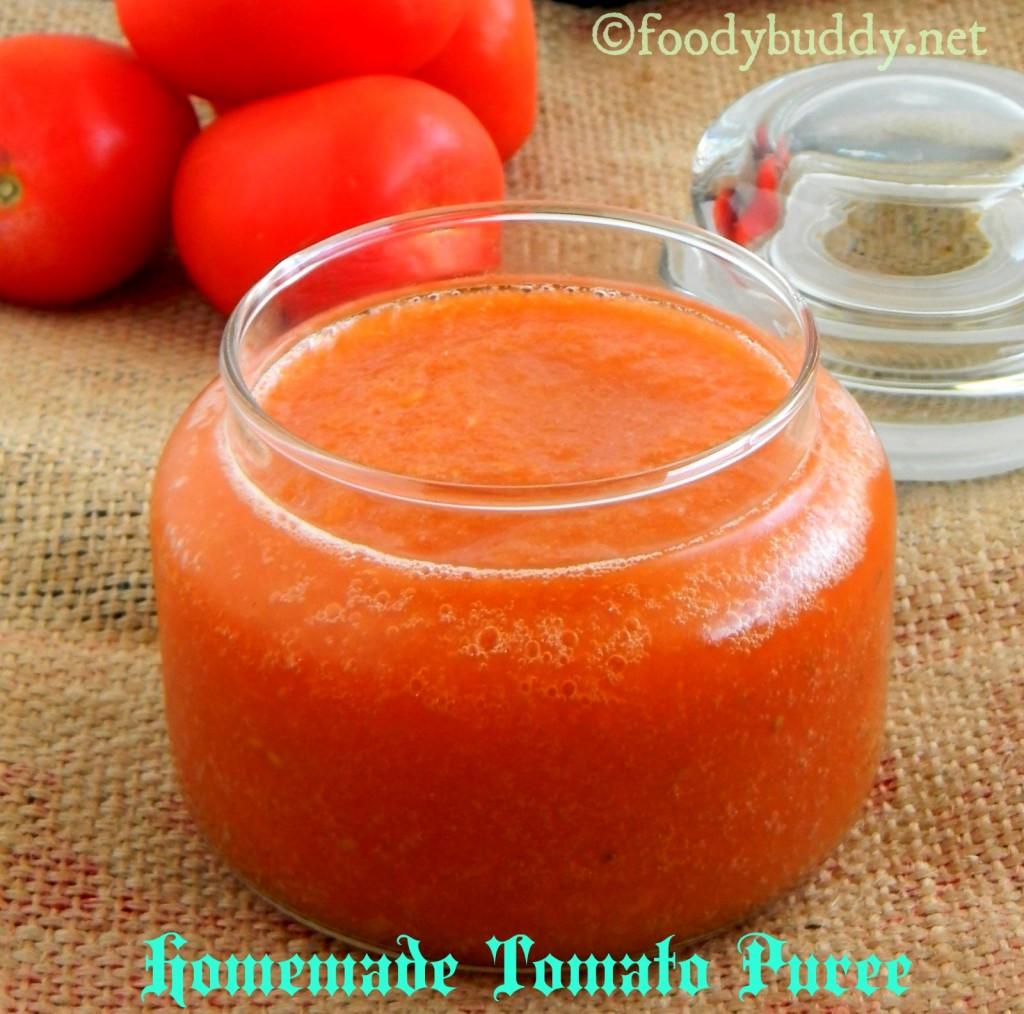 tomato puree homemade recipe
