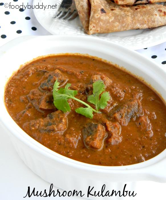 mushroom kulambu recipe