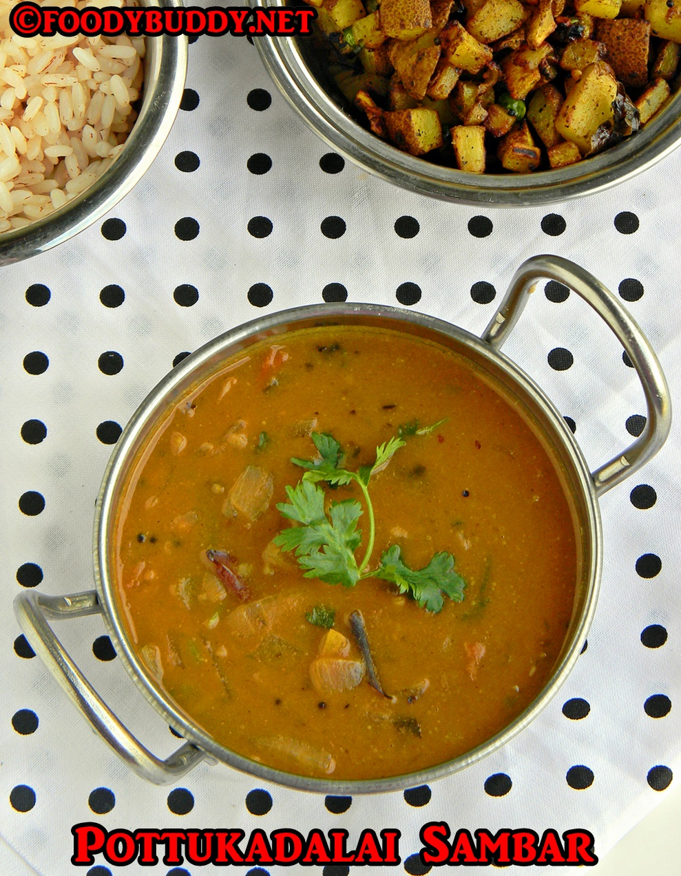 sambar recipe without dal and veggies