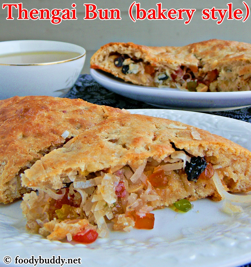bakery style thengai bun