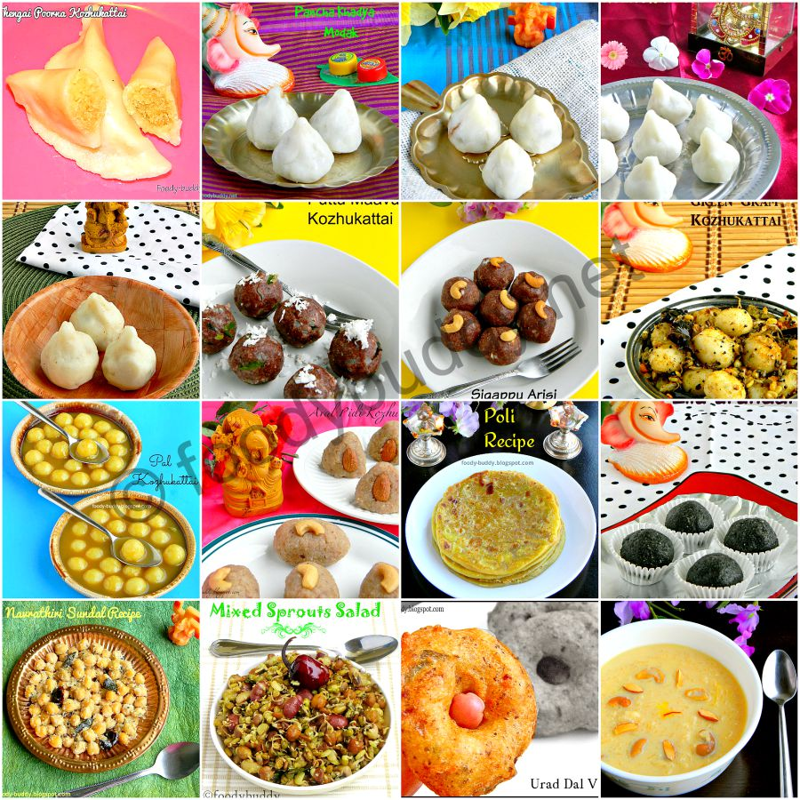 vinayagar chaturthi recipes 2015
