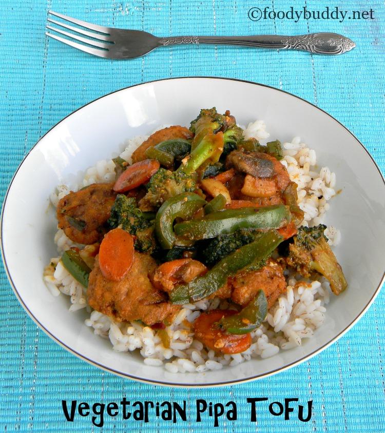vegetarian pipa tofu