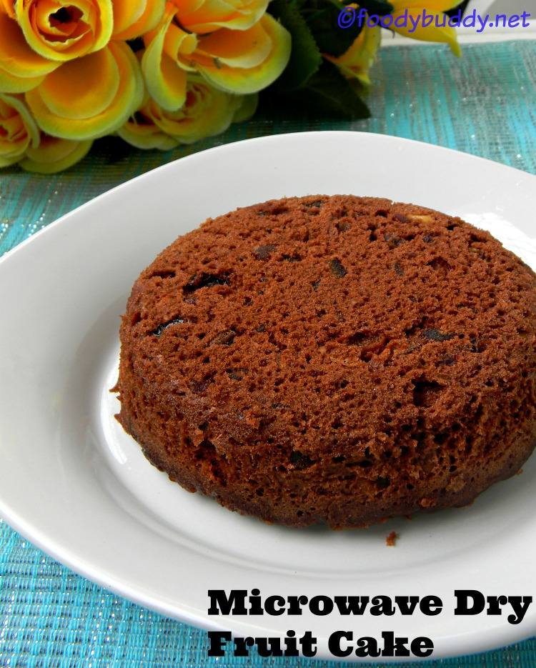 Eggless Fruit Cake Recipe In Microwave